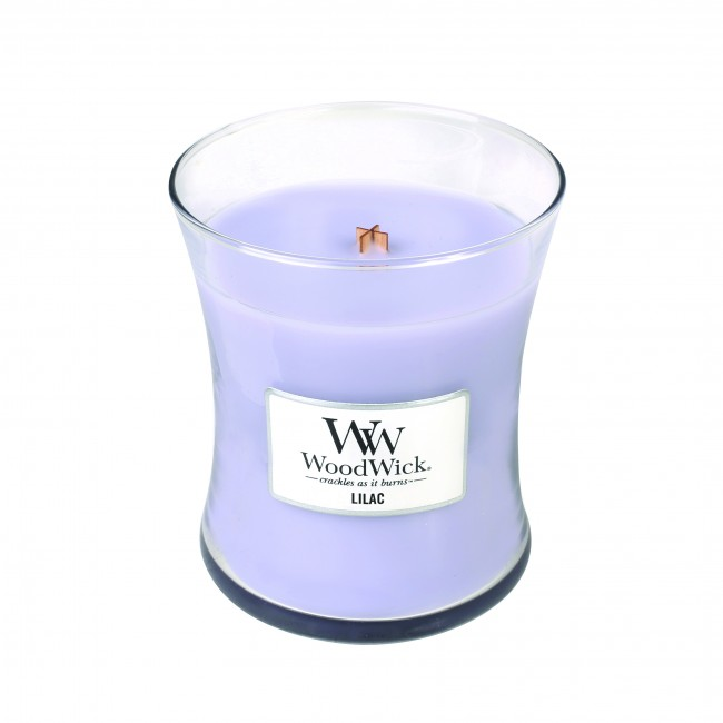 WoodWick Lilac Medium Candle