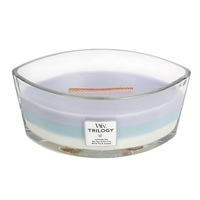 WoodWick Calming Retreat Trilogy Ellipse Candle