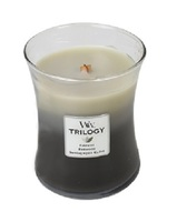 WoodWick Warm Woods Trilogy Medium Candle
