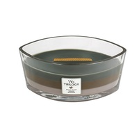 WoodWick Cozy Cabin Trilogy Ellipse Candle