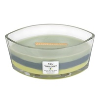 WoodWick Woodland Shade Trilogy Ellipse Candle