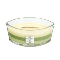WoodWick Garden Oasis Trilogy Ellipse Candle