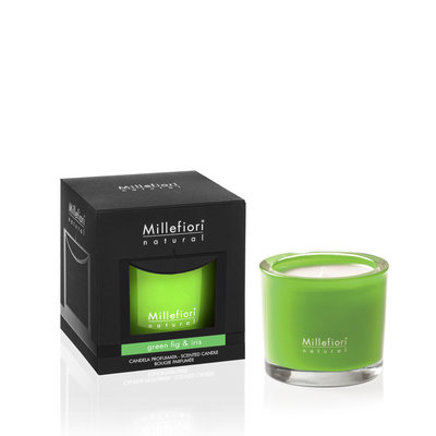 Millefiori Natural Green Fig & Iris Candle