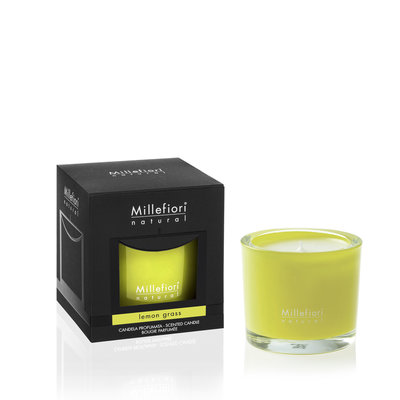 Millefiori Natural Lemongrass Candle