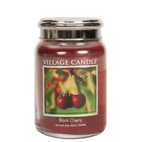 Village Candle Black Cherry Large Candle