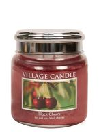 Village Candle Black Cherry Medium Candle