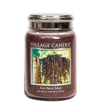 Village Candle Acai Berry Tobac Large Candle