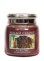 Village Candle Acai Berry Tobac Medium Candle