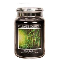 Village Candle Black Bamboo Large Candle