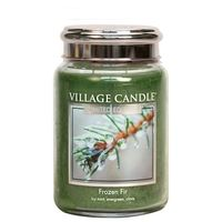 Village Candle Frozen Fir Large Candle