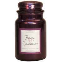 Village Candle Berry Cardamom Metallic Large Candle