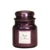 Village Candle Berry Cardamom Metallic Medium Candle