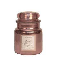 Village Candle Guave Tangerine Metallic Medium Candle