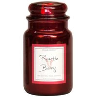 Village Candle Rosette Berry Metallic Large Candle