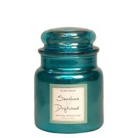 Village Candle Seashore Driftwood Metallic Medium Candle