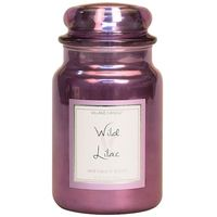 Village Candle Wild Lilac Metallic Large Candle