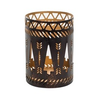 WoodWick Bronze Trees Petite Candle Holder