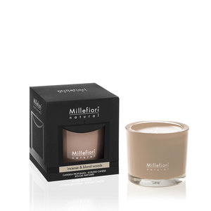 Millefiori Natural Incense & Blond Woods Candle