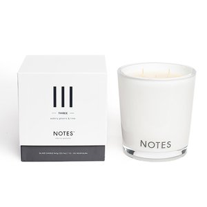 Notes III - Watery Greens & Lime Large Candle
