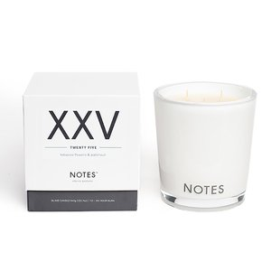 Notes XXV - Tobacco Flowers & Patchouli Large Candle