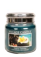 Village Candle Tropical Getaway Medium Candle