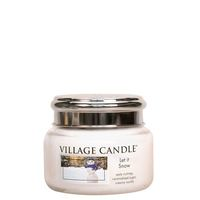 Village Candle Let It Snow Mini Candle